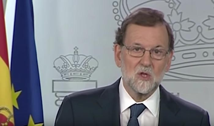 Rajoy inicia el proceso para aplicar el 155
