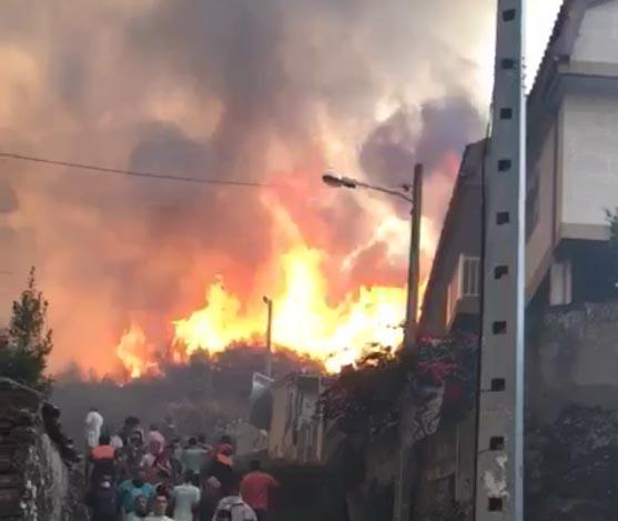Tragedia y desolación en Galicia