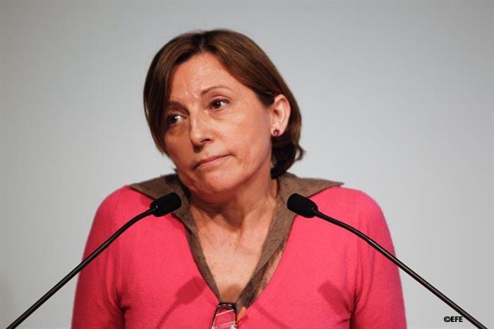 Forcadell reconoce que el Parlament está disuelto