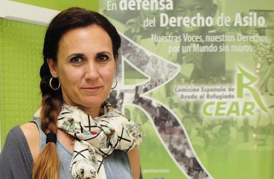 Estrella Galán (CEAR) sonroja al Senado por el olvido de los refugiados