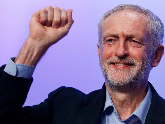 Corbyn sitúa a los laboristas a cinco puntos por encima de los conservadores