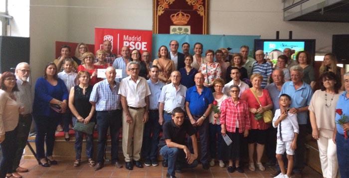 Gabilondo y Antonelli, Premios Elena Soriano 2017 de la Agrupación Socialista de Villaconejos