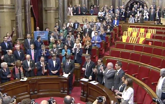 Puigdemont comparecerá como imputado este jueves