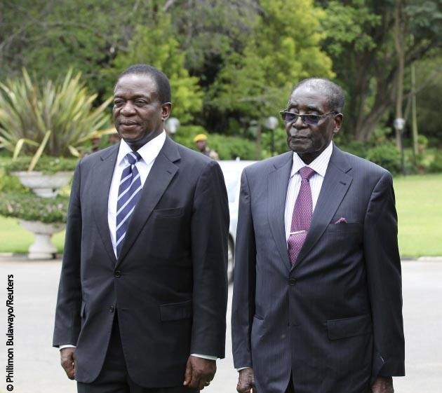 Mugabe, detenido
