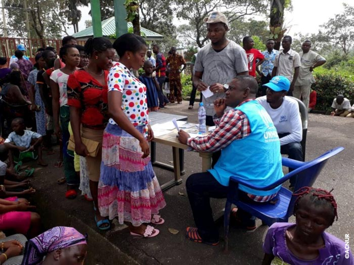 Dos mil cameruneses refugiados en Nigeria