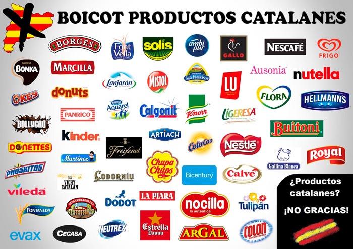 Crece la estupidez: un 23% de españoles no compra productos catalanes