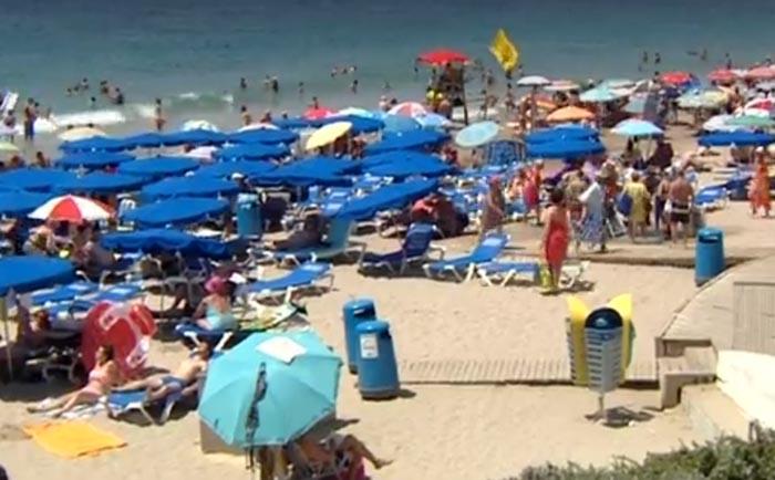 Visita España un 10% más de turistas extranjeros