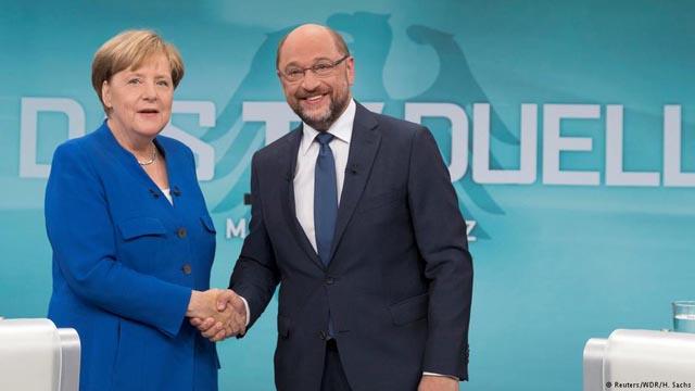 Preocupación en la socialdemocracia europea por el acuerdo de gran coalición de Schulz y Merkel
