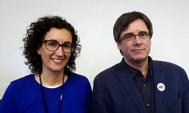 Frágil acuerdo de ERC con Puigdemont