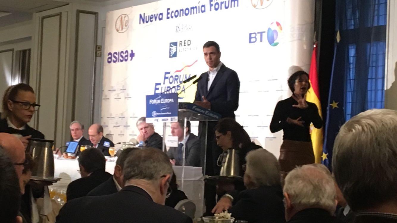 Pedro Sánchez: 10 propuestas de país para un futuro Gobierno socialista