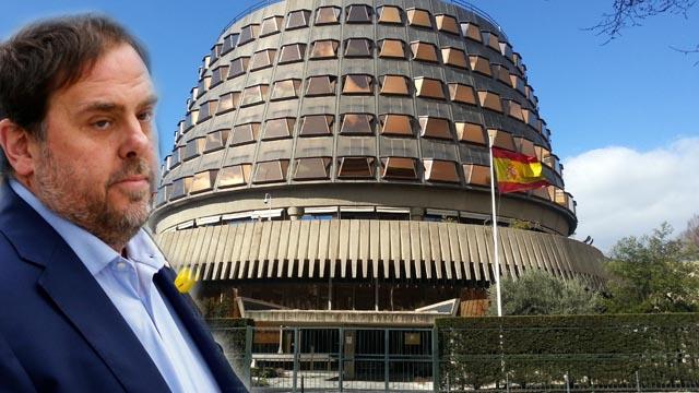Junqueras exige amparo al Tribunal Constitucional