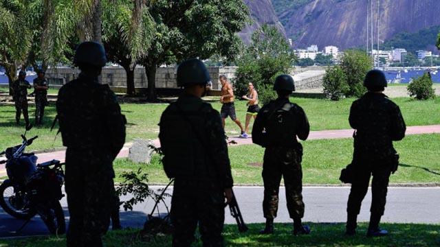 Motín en la cárcel de Río de Janeiro