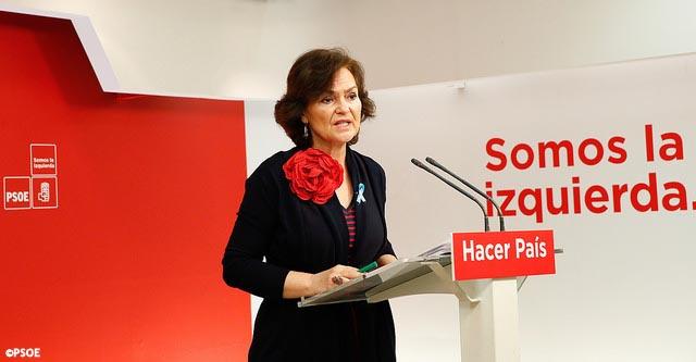 El PSOE reprocha al Gobierno un acuerdo con la función pública a espaldas de las comunidades autónomas