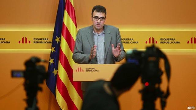 """Lluís Salvadó (ERC): elegiremos consejera """"a quien tenga las tetas más gordas"""""""