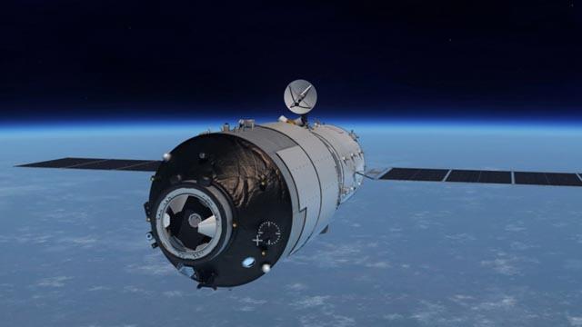 Una estación espacial china se estrellará contra la Tierra sin control