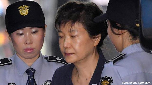 La ex presidenta de Corea del Sur, condenada a 24 años de cárcel