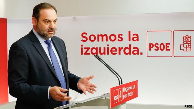 El PSOE pide a Ciudadanos que se abstenga en la investidura