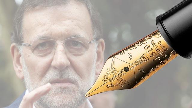 "Editorial ""Adiós, Rajoy, adiós"""