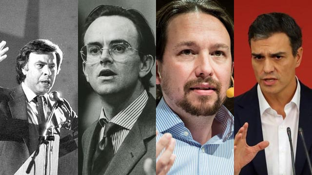 Historia de las tres mociones de censura de la democracia (1980, 1987 y 2017)