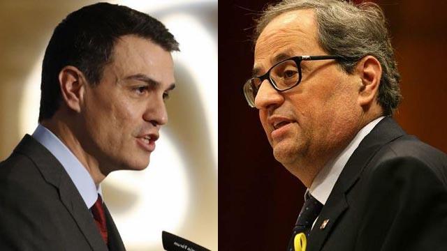 Torra condiciona el voto a la moción la situación de los políticos presos