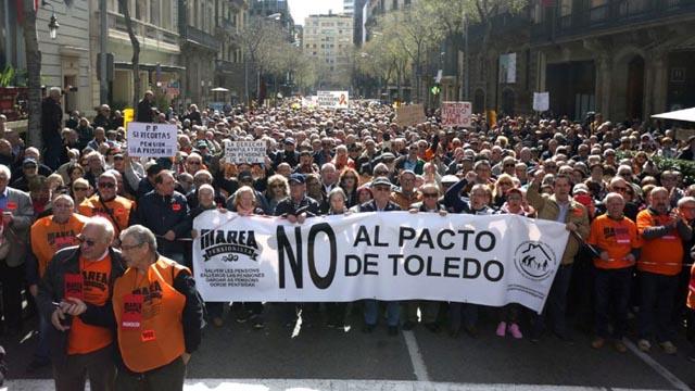 El Pacto de Toledo acuerda subir las pensiones al menos el IPC