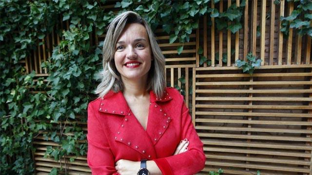 Pilar Alegría, candidata del PSOE en Zaragoza, comienza la campaña