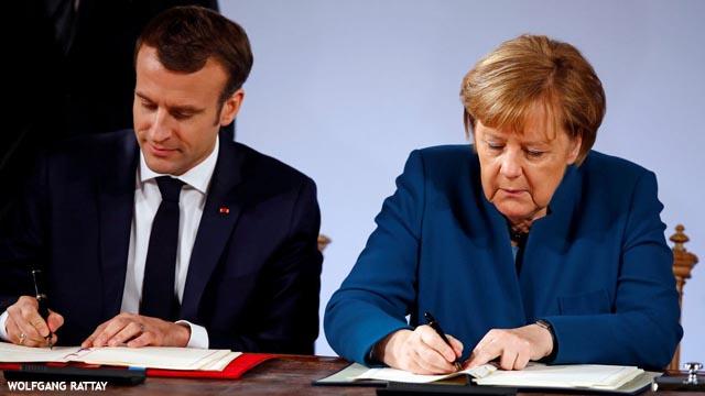 ¿Y para qué firman un nuevo Tratado de Amistad Merkel y Macron?