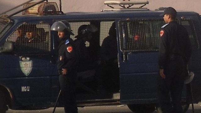 La policía marroquí desmantela un taller de fabricación de pateras