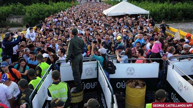 Más de tres millones de venezolanos han abandonado su país, según la ONU