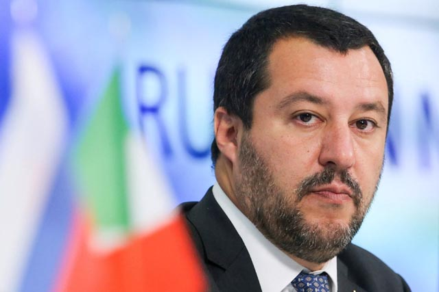 El Movimiento 5 Estrellas salva a Salvini de ser procesado por impedir la entrada de migrantes