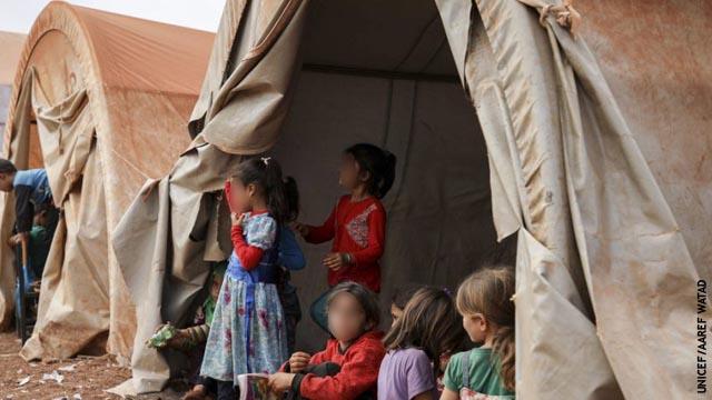 Los niños abandonados en el norte de Siria
