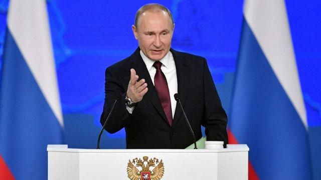Putin amenaza a Estados Unidos con apuntarle con misiles