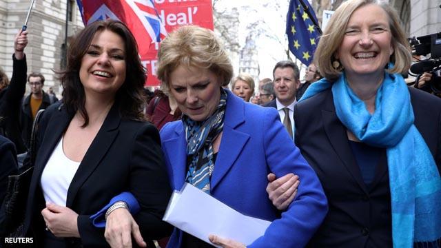 Diputadas 'tories' abandona del Partido Conservador por la lamentable gestión del Brexit