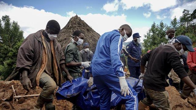 Cientos de muertos en Mozambique