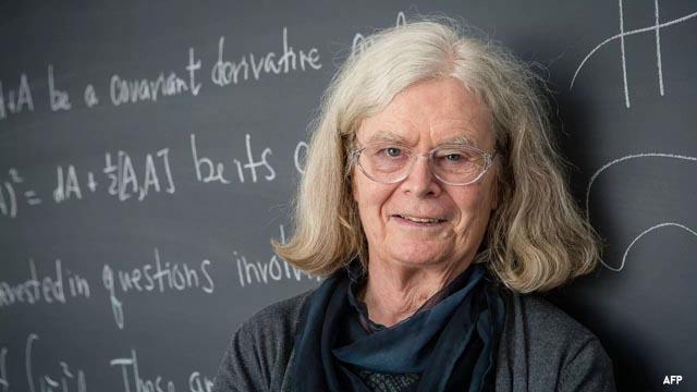 El 'Nobel' de Matemáticas, para Karen Uhlenbeck, primera mujer en conseguirlo