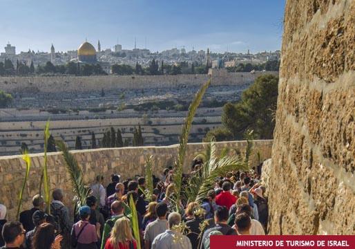 Jerusalén en Semana Santa