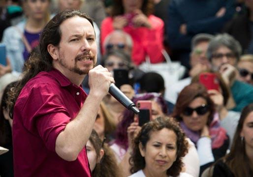 Pablo Iglesias acusa al PSOE de haber tomado el pelo a Podemos