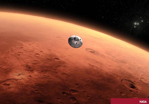 La NASA vende pasajes a Marte