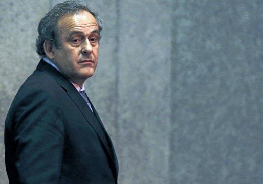 Platini, detenido por corrupción