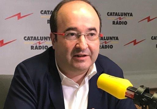 Iceta dice que la sentencia de los presos independentistas será en breves semanas