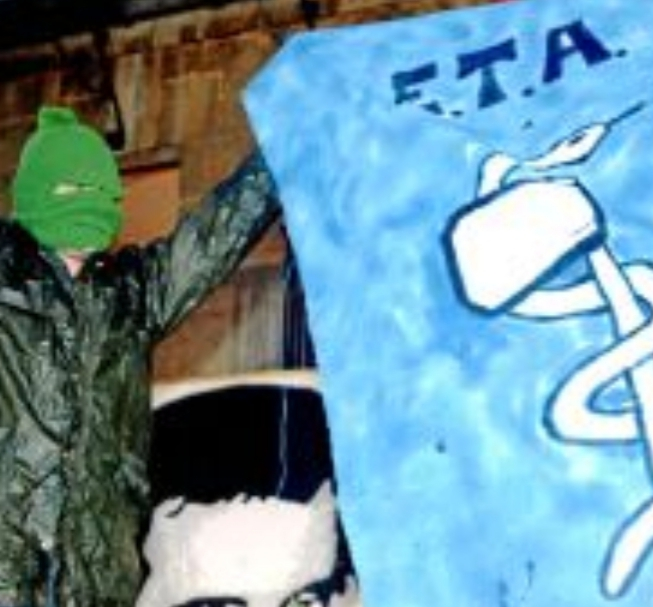 Denuncia de Vox en relación a pancartas a favor de ETA en Bilbao.