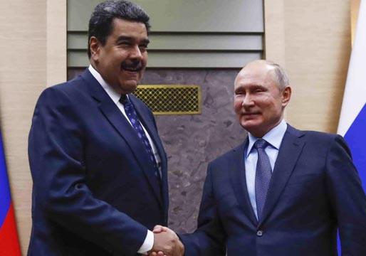 Maduro pide socorro a Putin