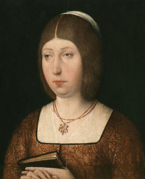 Retrato de Isabel La Católica, conservado en el Museo del Prado.