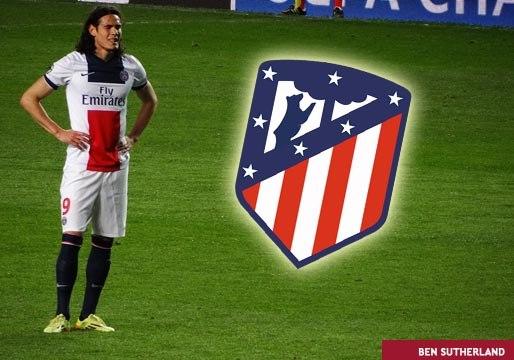 Cavani ya casi es jugador del Atlético de Madrid