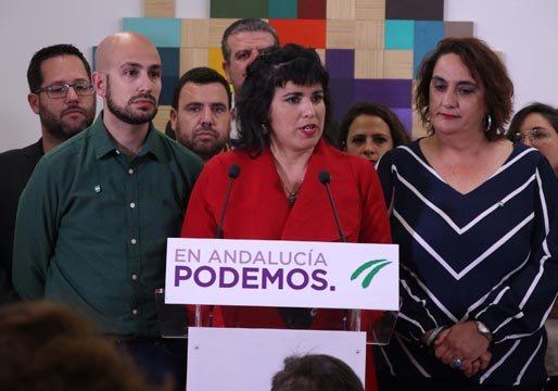 Teresa Rodríguez montará una escisión de Podemos