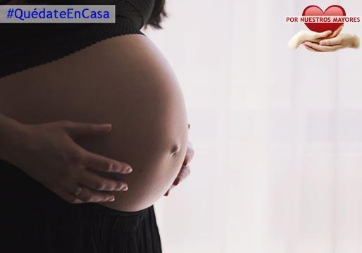 ¡Cuidado, embarazadas!, sois población de riesgo