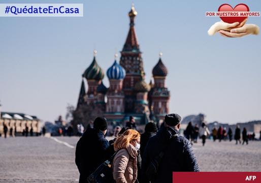 Rusia no puede detener la expansión de los contagios