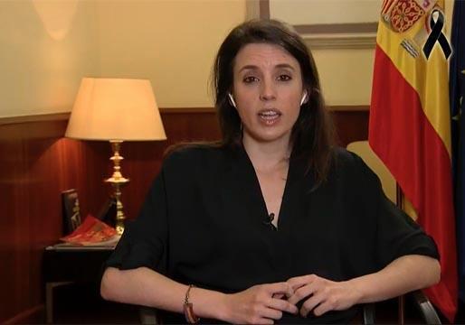Irene Montero desvela que el PP y VOX alientan la insubordinación del Ejército