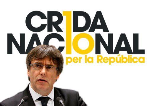 Puigdemont se monta su propio partido: CNxR