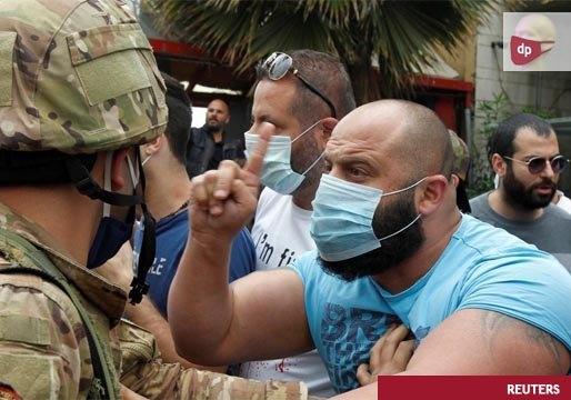 El Ejército toma las calles de Líbano